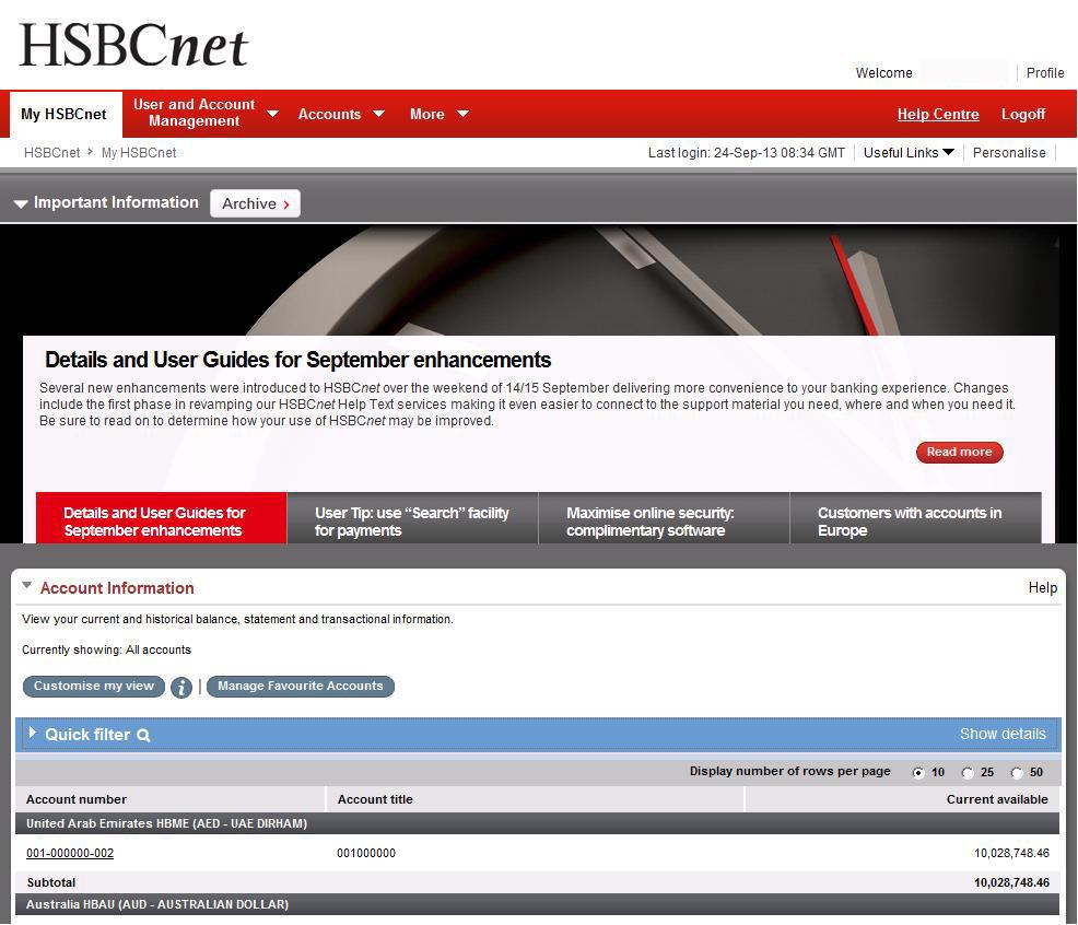 hsbc.co.uk netbanking